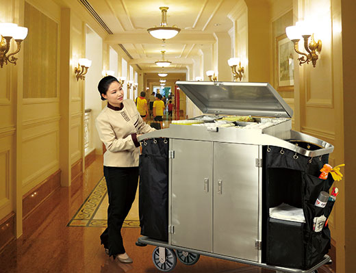 Hotel housekeeping trolley.jpg