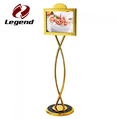 Menu Sign Post,Metal Display Stand,Sign Display Board