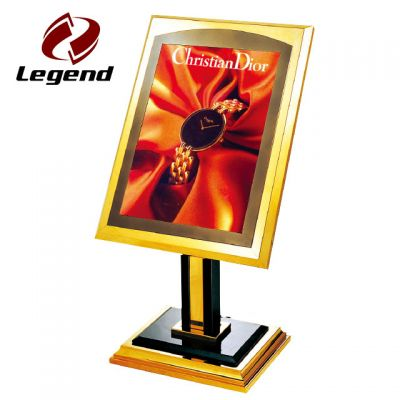 Advertising Sign Post,Exhibition Sign Stand,Metal Display Stand