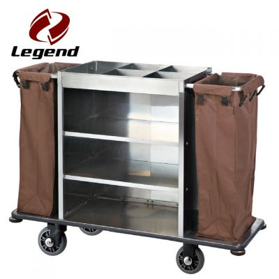 Equipment Housekeeping Carts,Hotel Cleaning Supplies,Hotel Housekeeping Trolley Maid Cart,Housekeeping Carts & Hospitality Carts