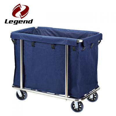 Hotel Housekeeping Trolley Maid Cart,Linen Carts Stainless Steel,Multi-purpose Hotel Housekeeping Maid Cart Trolley