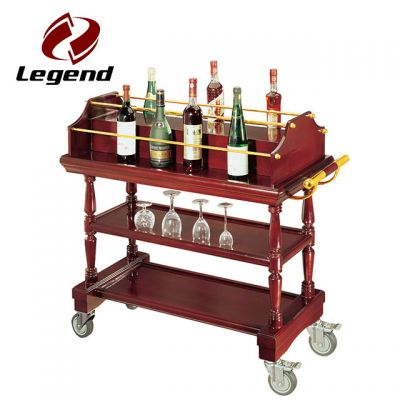 liquor service trolley,mobile bar trolley